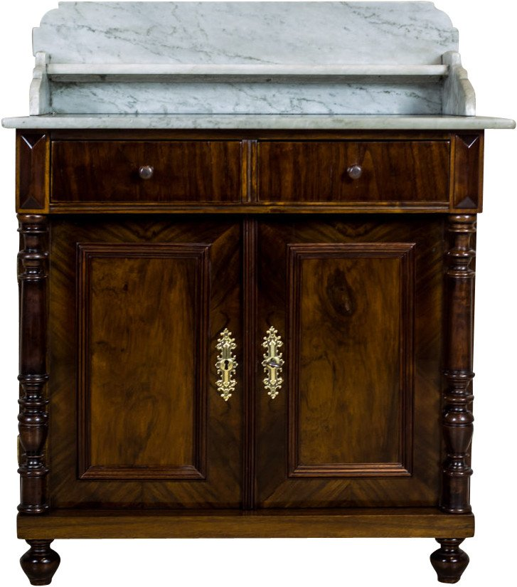 Basin Cabinet, Belgium, 19th C.