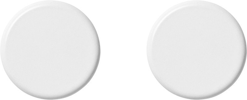 Set of 2 Knobs White by Norm Architects for Menu