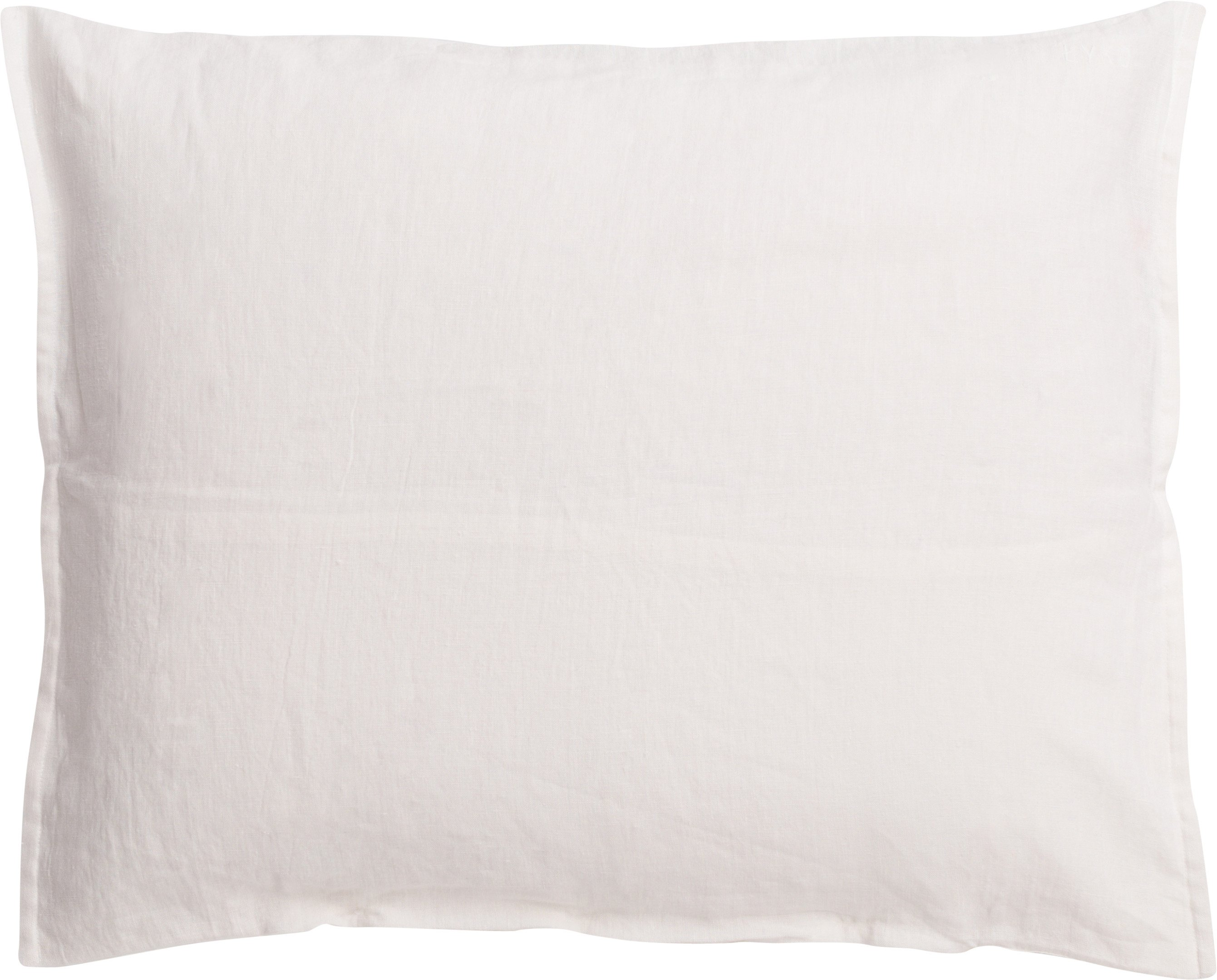 Linen Pillowcase, 50x60 cm Cream, Łyko