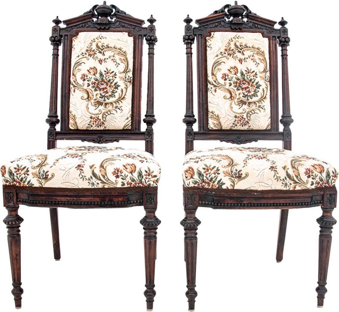 Pair of Chairs, France, 19th C.