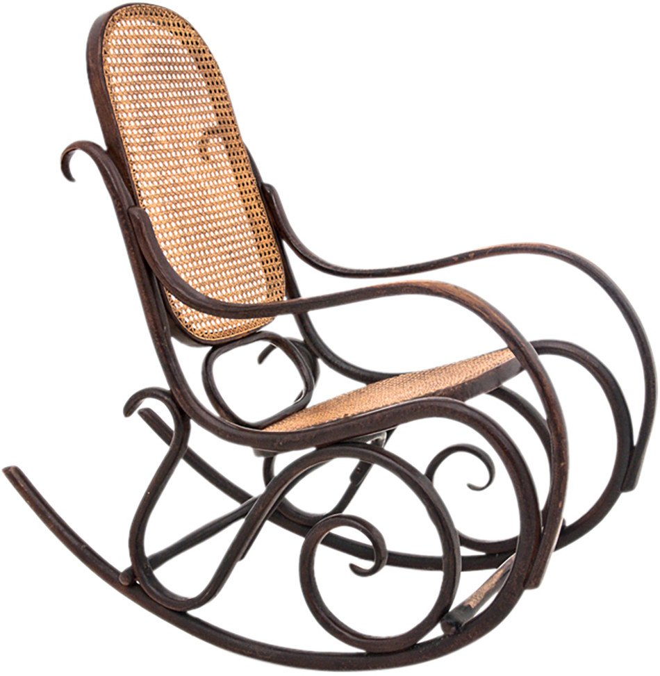 Rocking Chair, Poland, 1930s