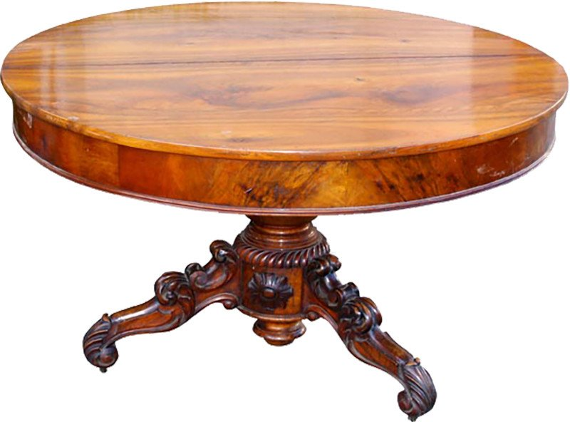 Extendable Round Table, 19th c.
