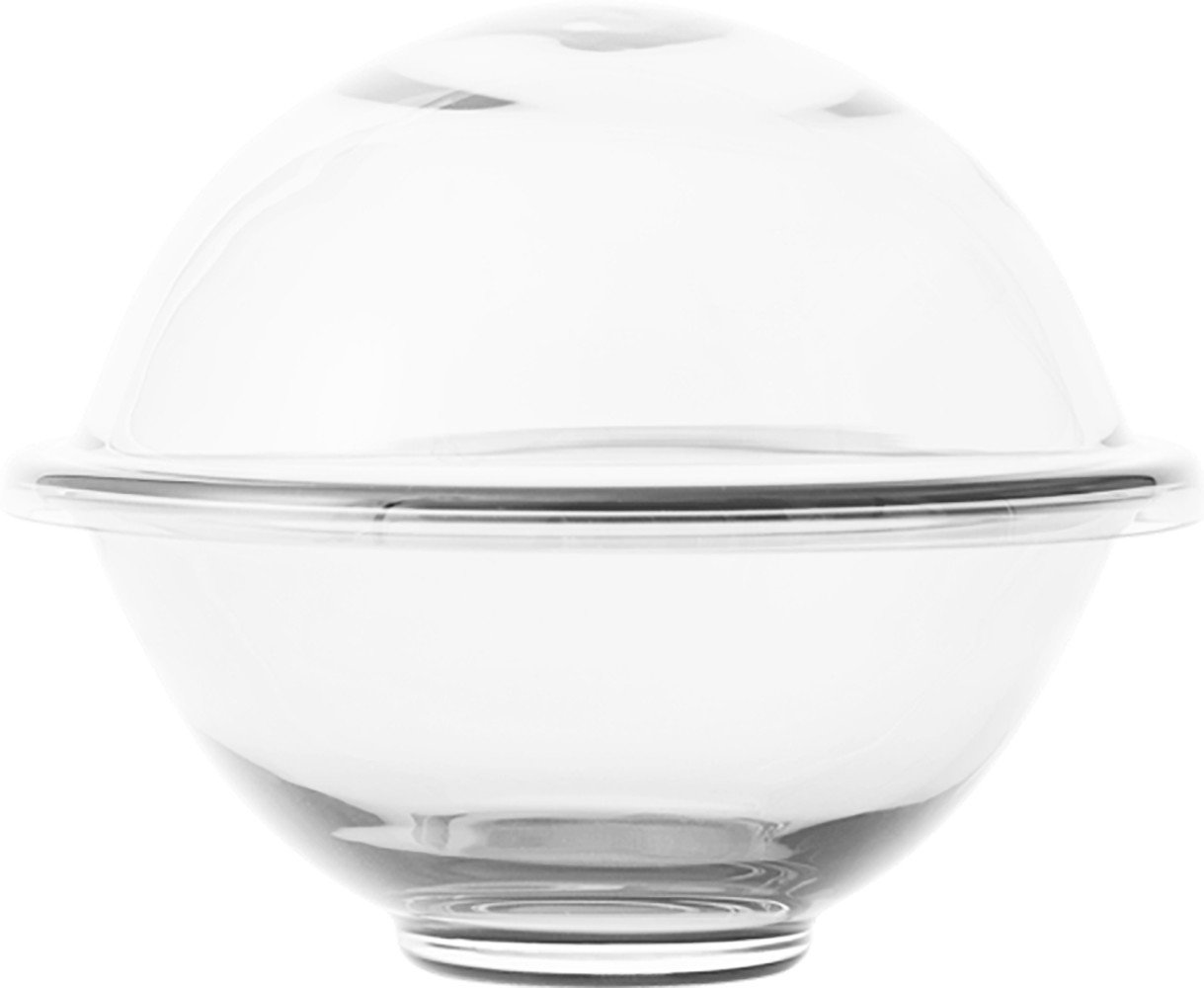 Thermodan Sugar Bowl Smoke glass Ø8 cm by Lyngyby Porcelain
