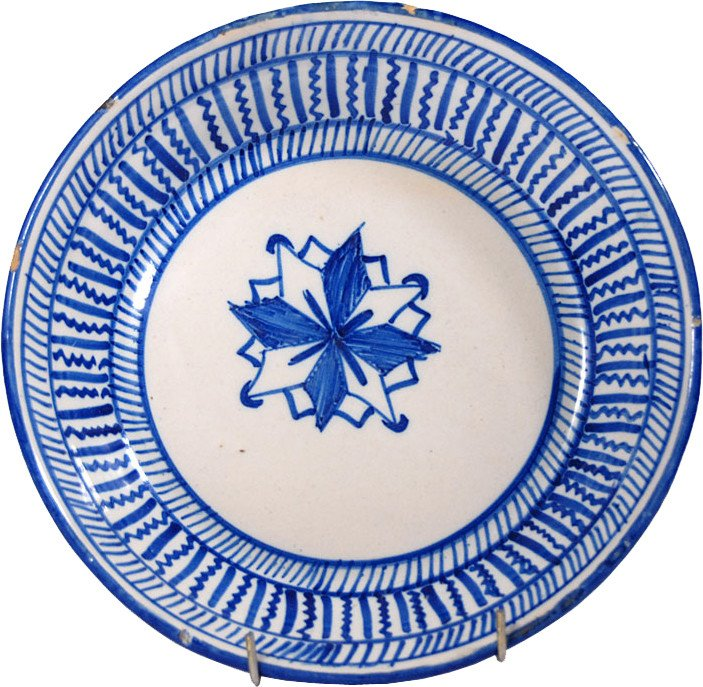 Plate, Portugal, early 20th C.