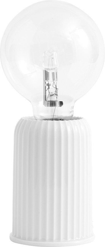 Fitting #03 Table Lamp White by P. Ludvigsen, Lyngby Porcelæn