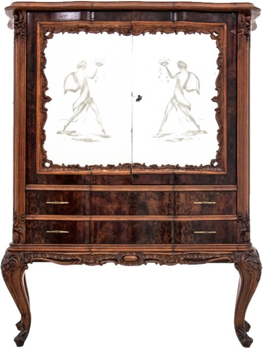 Bar Cabinet, early 20th C.