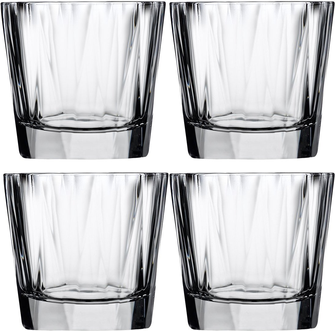 Set of Four Hemingway Whisky Glasses for Nude Glass