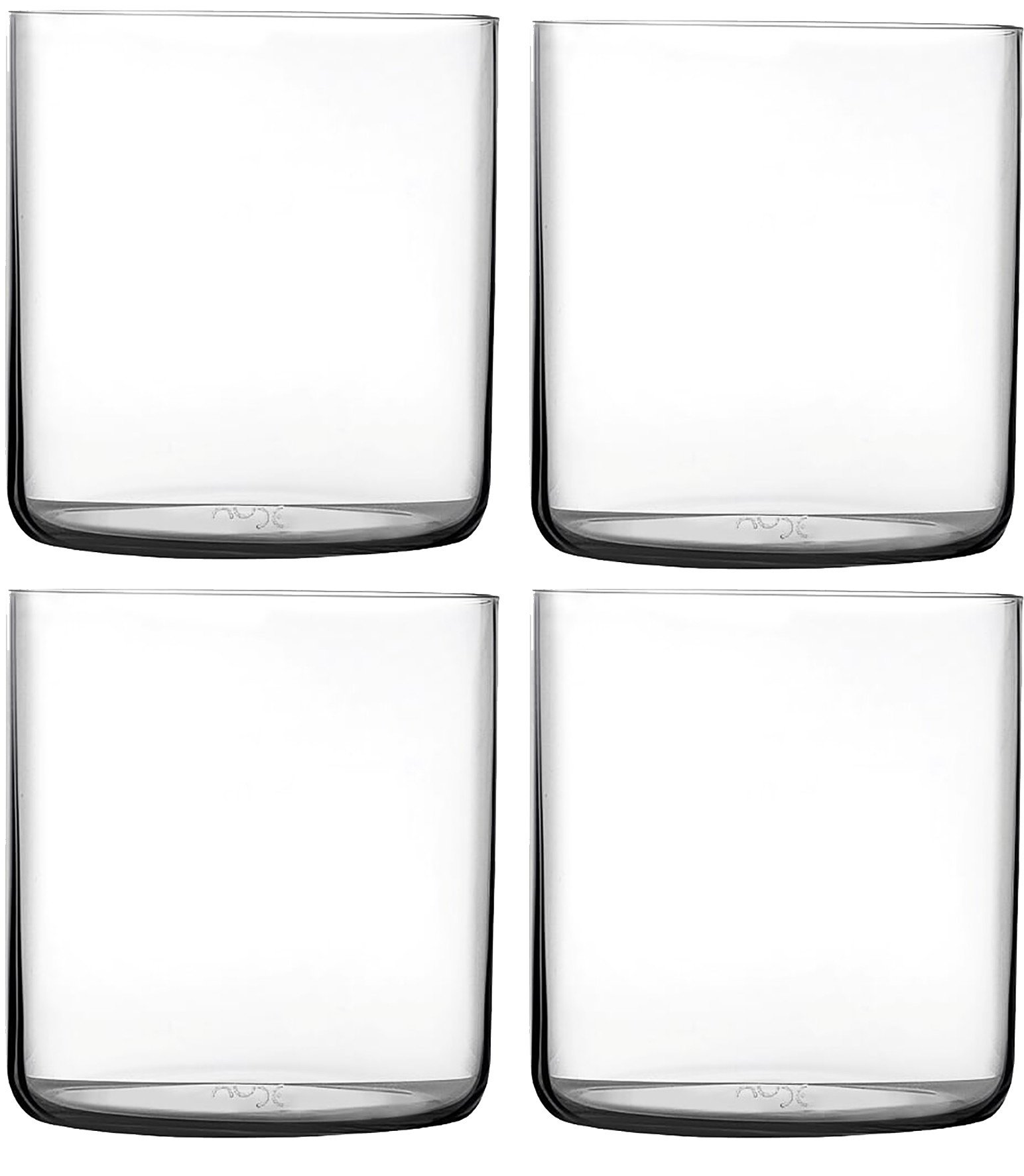 Set of Four Finesse SOF Whisky Tumbler for Nude Glass
