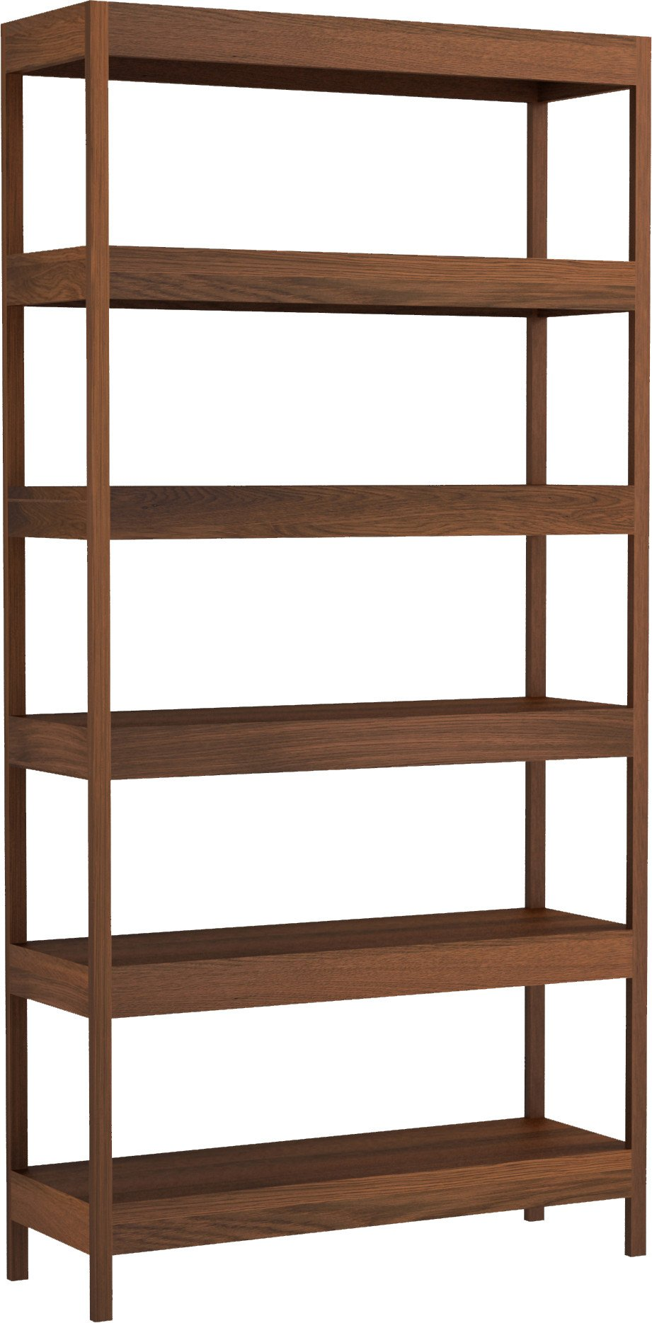Fatty Bookcase 100 Dark Oak Oil Wax, Tamo
