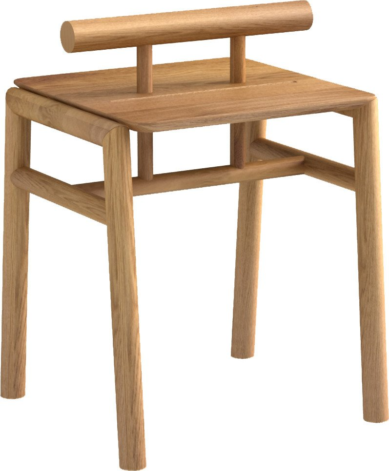 Pim Pow Nightstand Natur Oak Oil Wax, Tamo