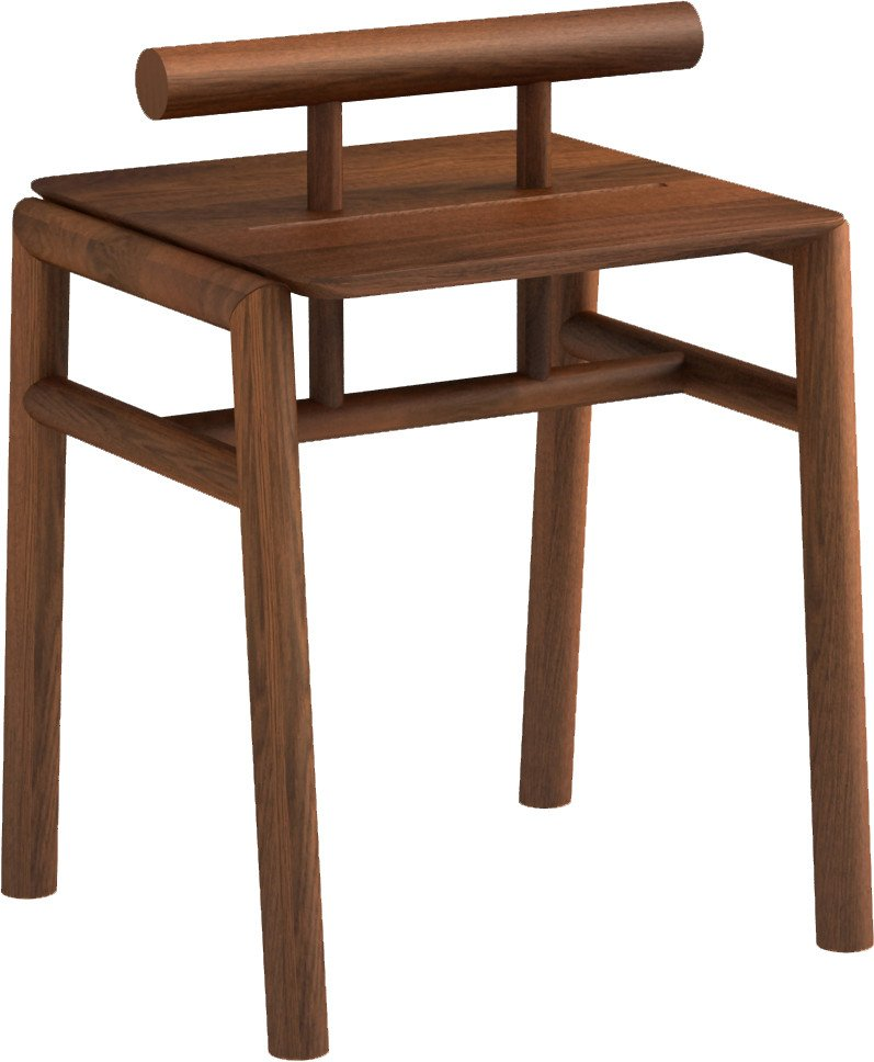 Pim Pow Nightstand Dark Oak Oil Wax, Tamo
