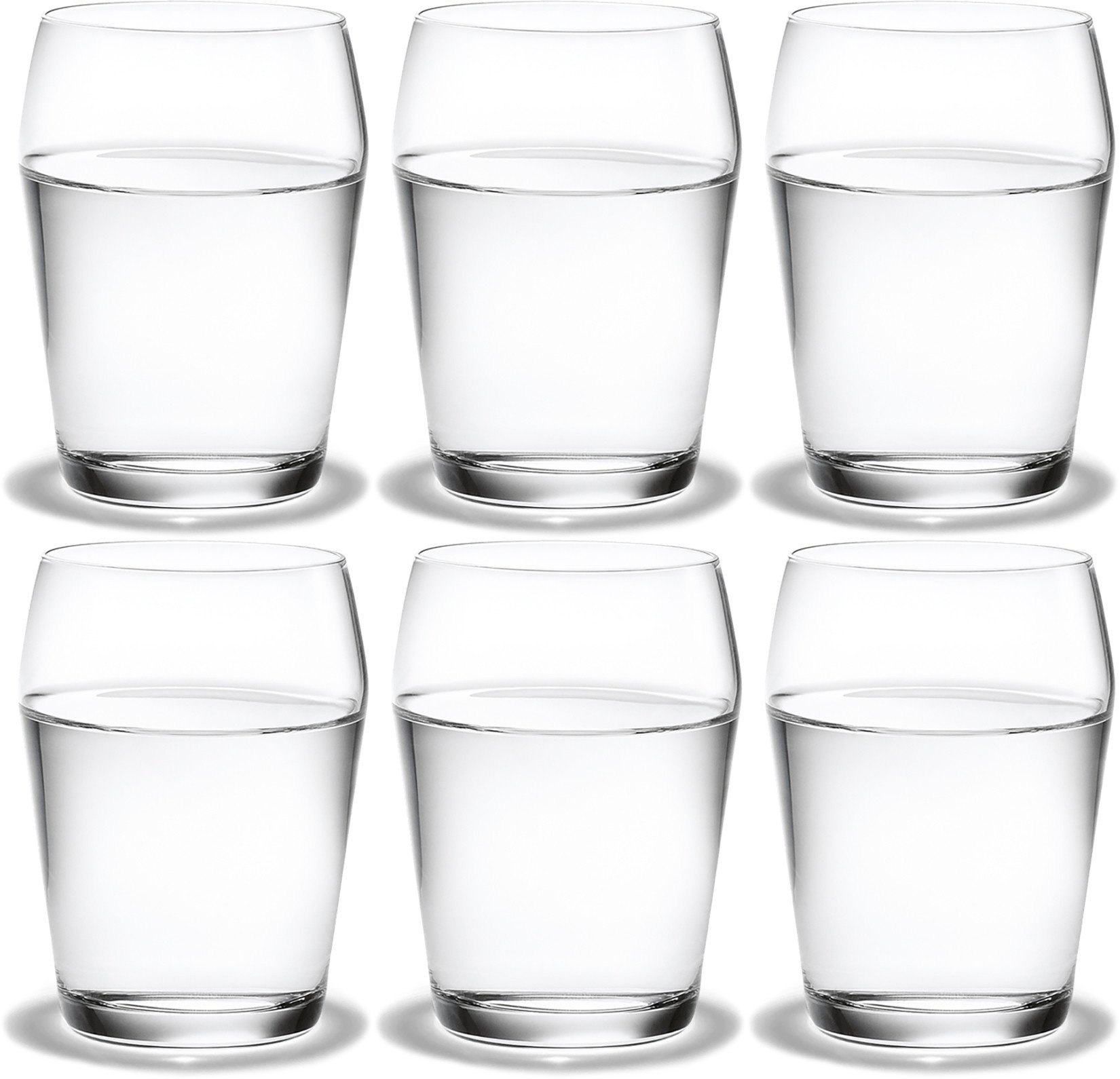 Set of Six Perfection Tumblers 23cl by T. Nybroe for Holmegaard