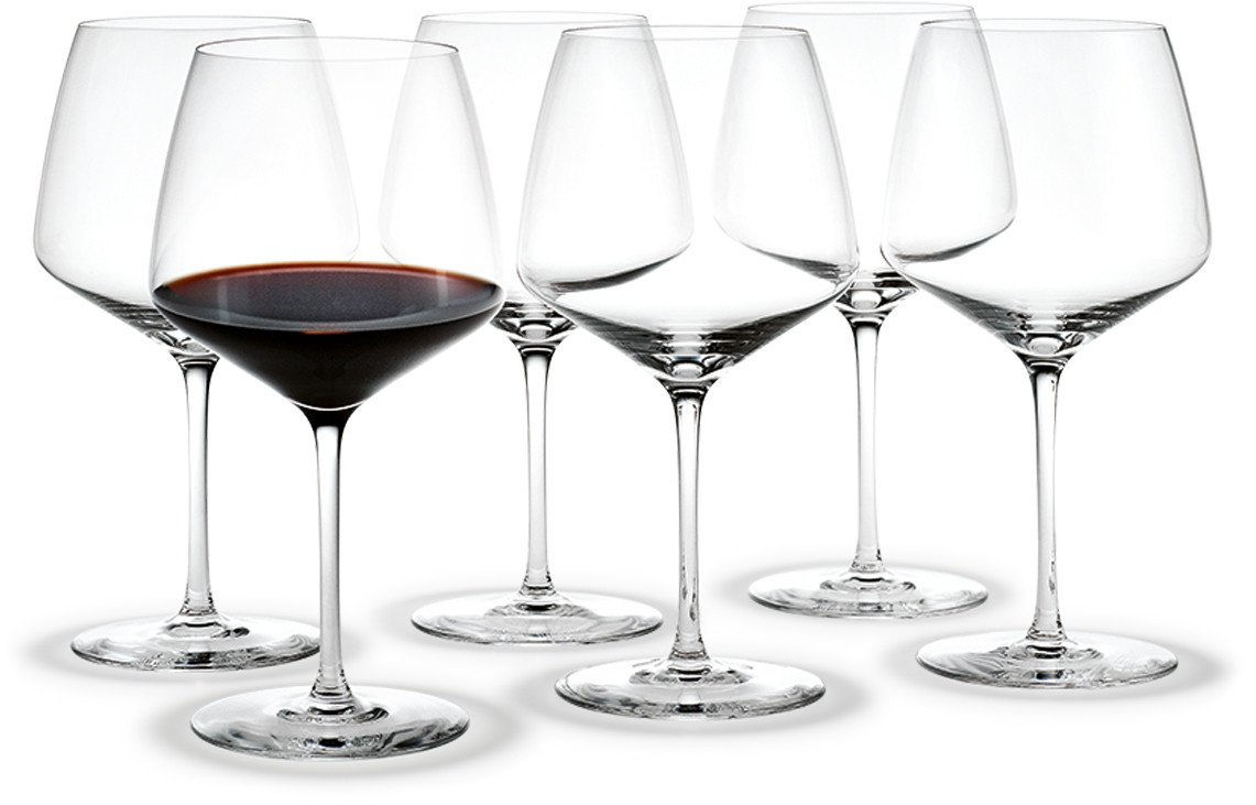 Set of Six Sommelier Perfection Glasses by T. Nybroe for Holmegaard
