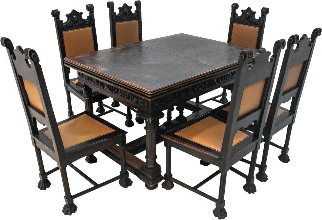 Dining Set, 19th C.