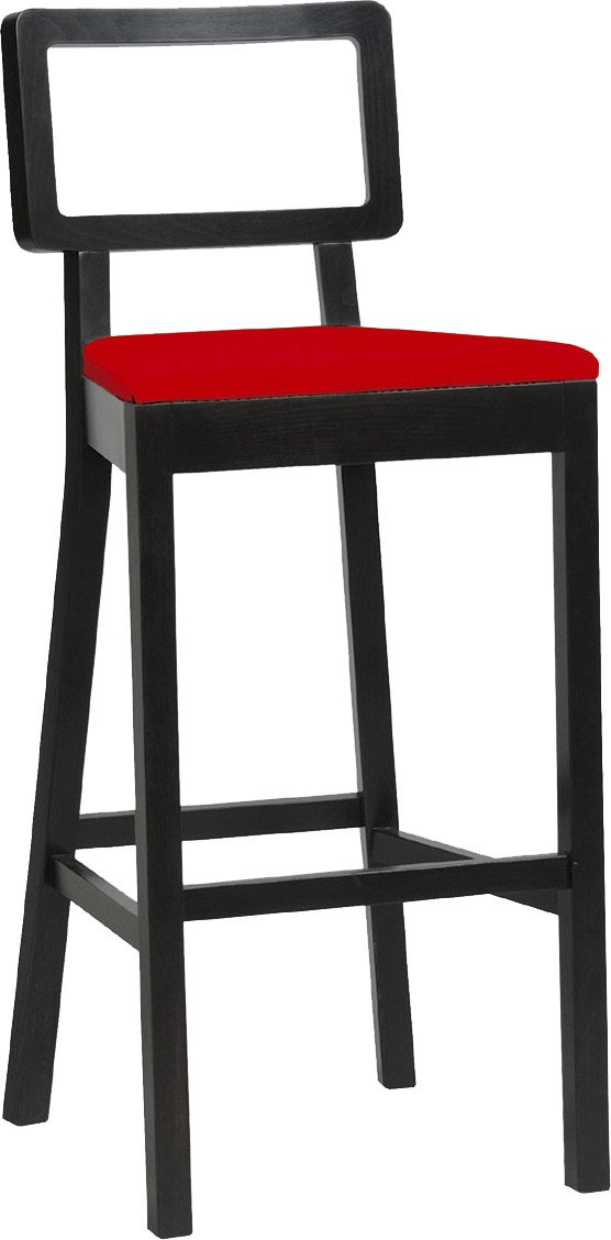 Cordoba 611 Bar Stool Upholstered Low by T. Kelley, TON
