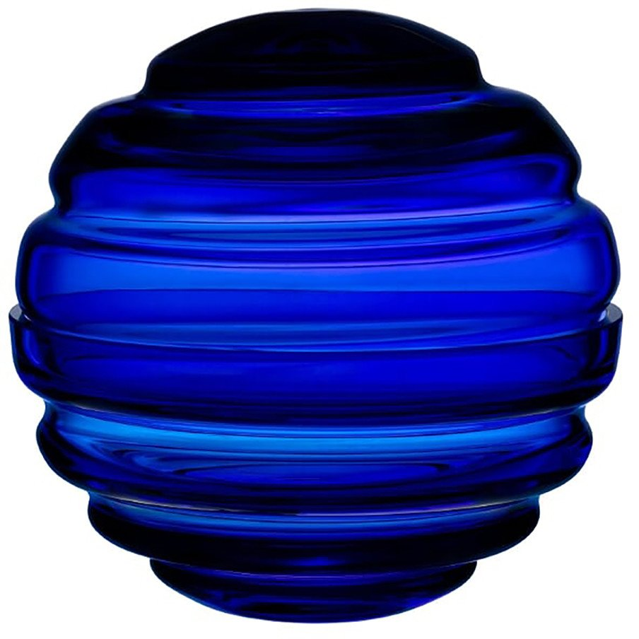 Nest Cobalt Blue Candy Box Small by Pentagon Design for Nude Glass