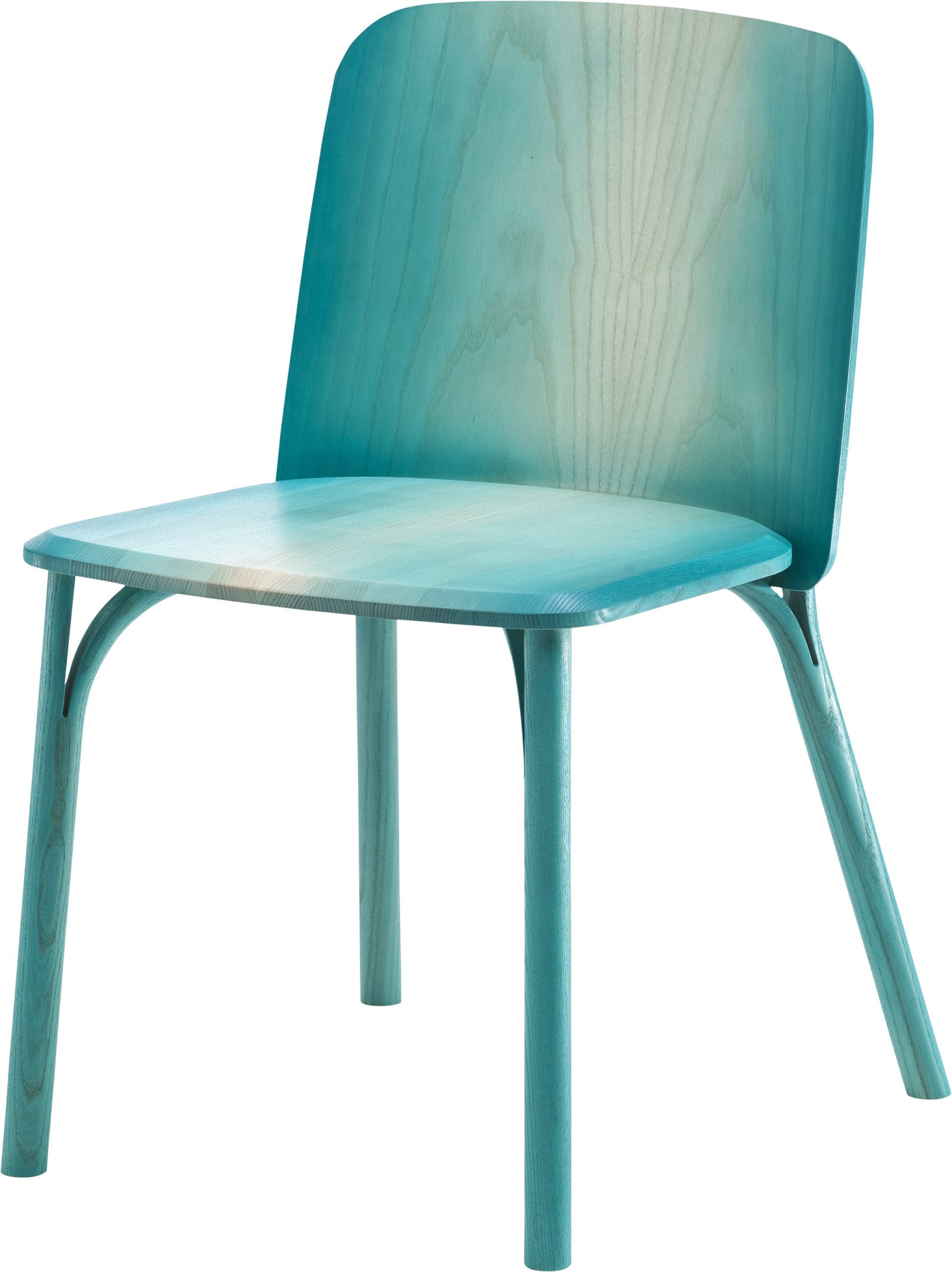Split Chair Ashwood by A. Levy, TON