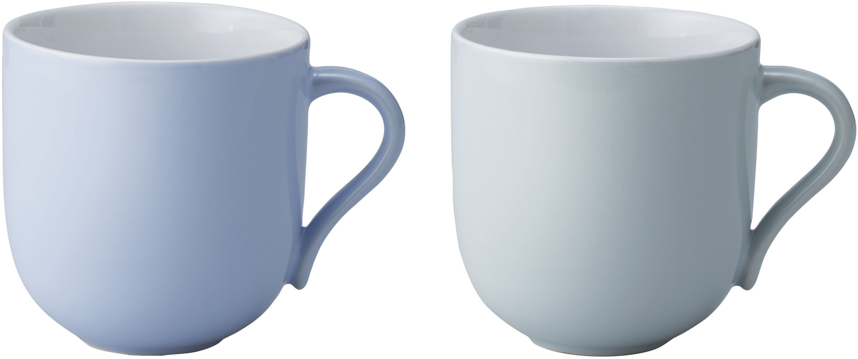 Pair of Blue Cups L Emma by HolmbäckNordentoft for Stelton