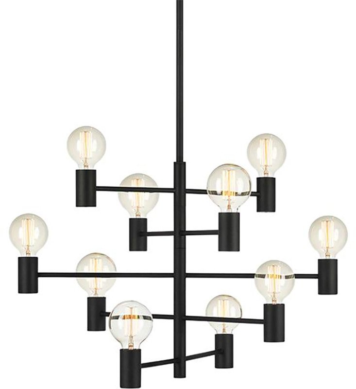 Paris Pendant Lamp Black, Markslöjd