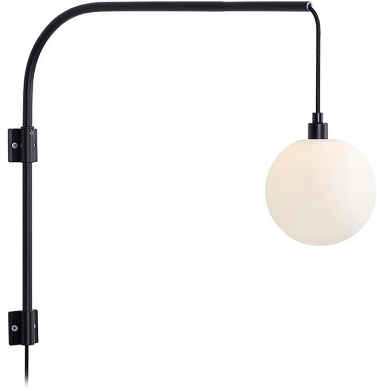 Buddy Wall Lamp Black, Markslöjd