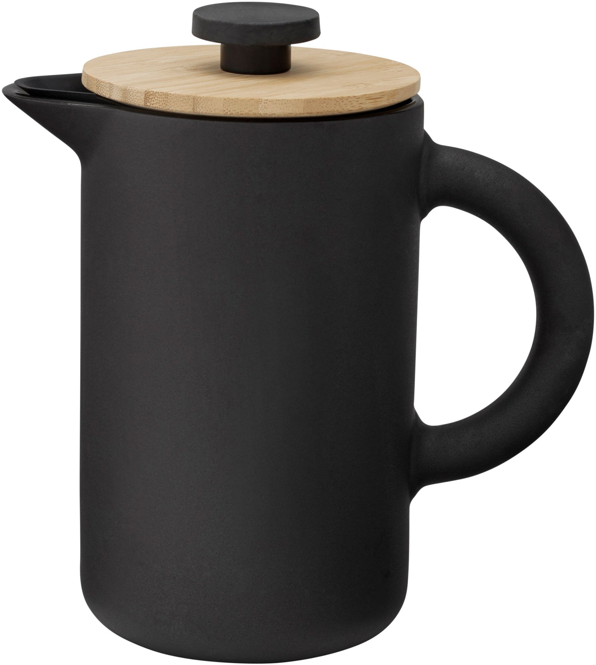 Theo French Press Black by F. Cayouette for Stelton