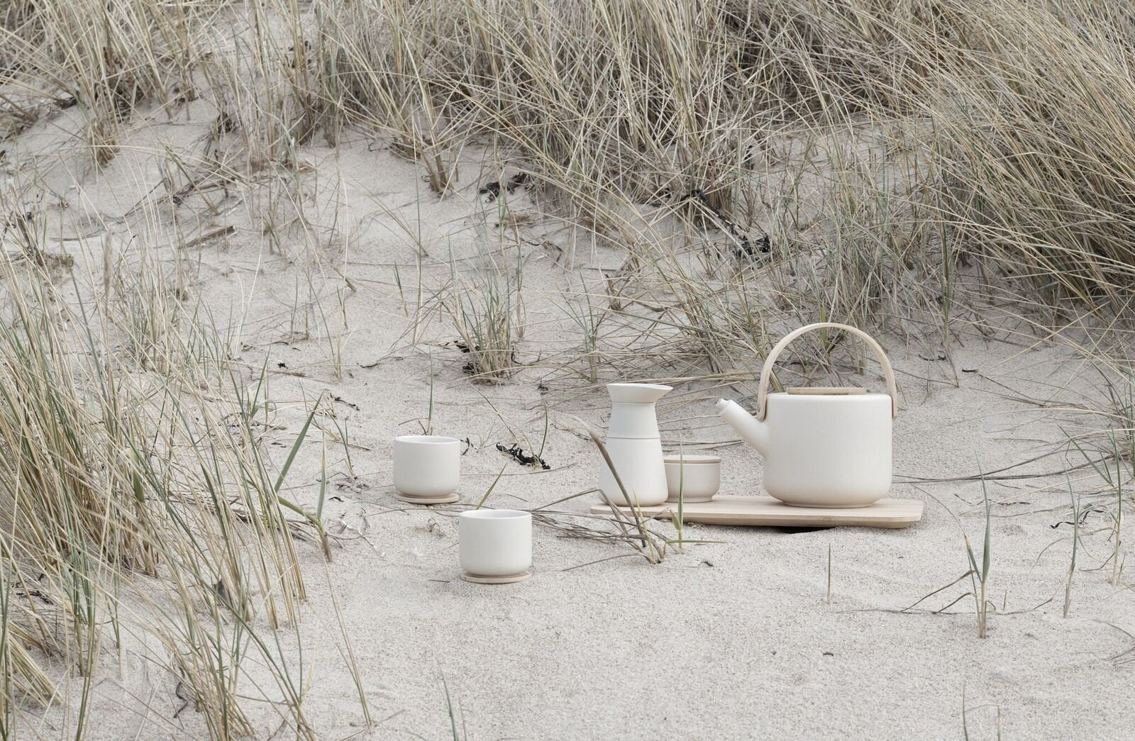 Theo Coffee Brewer Sand by F. Cayouette for Stelton