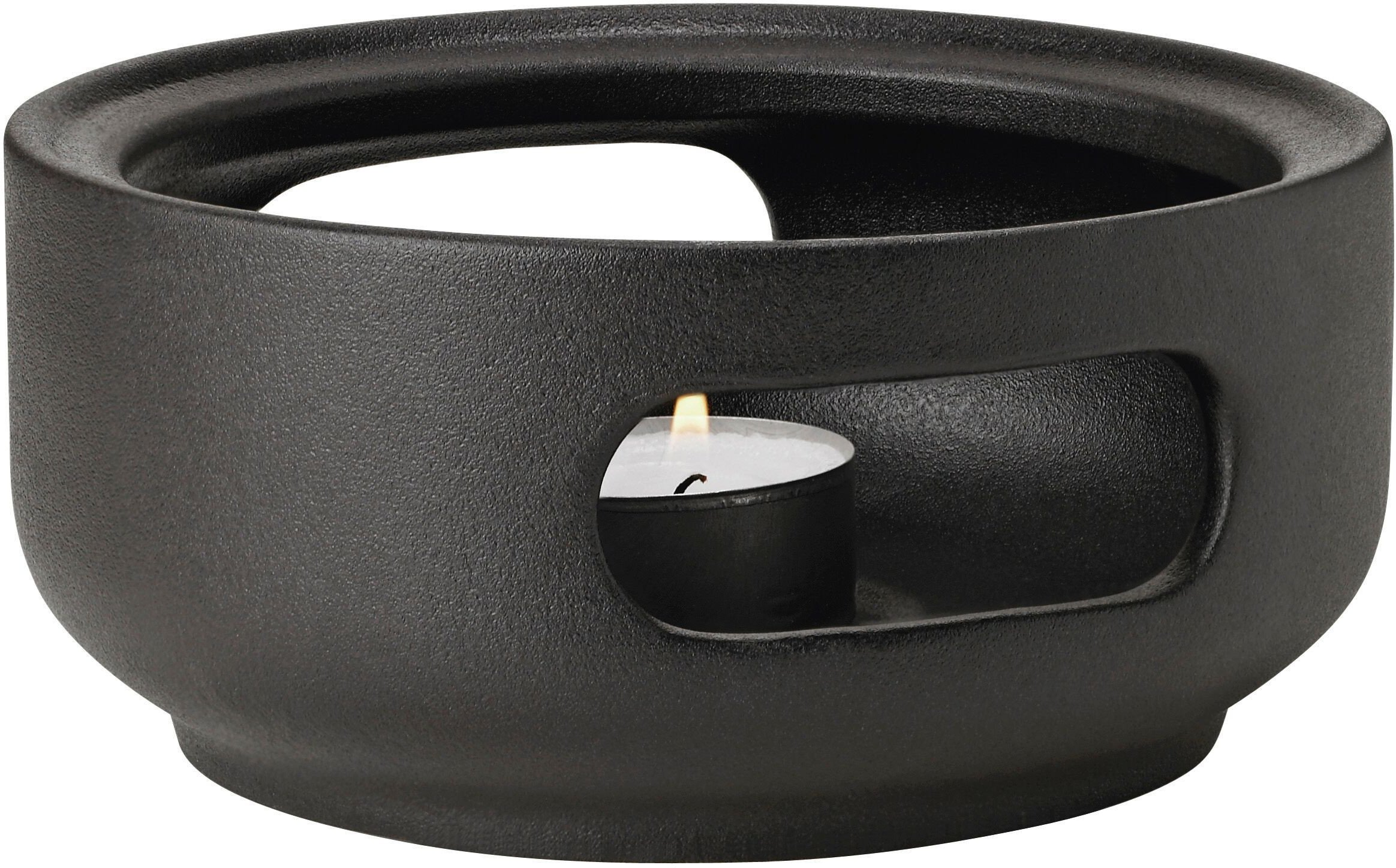 Theo Teapot Warmer Black by F. Cayouette for Stelton