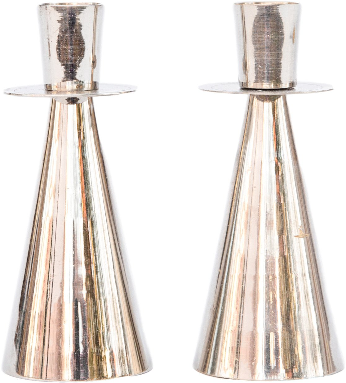 Pair of Candleholders, 1970s