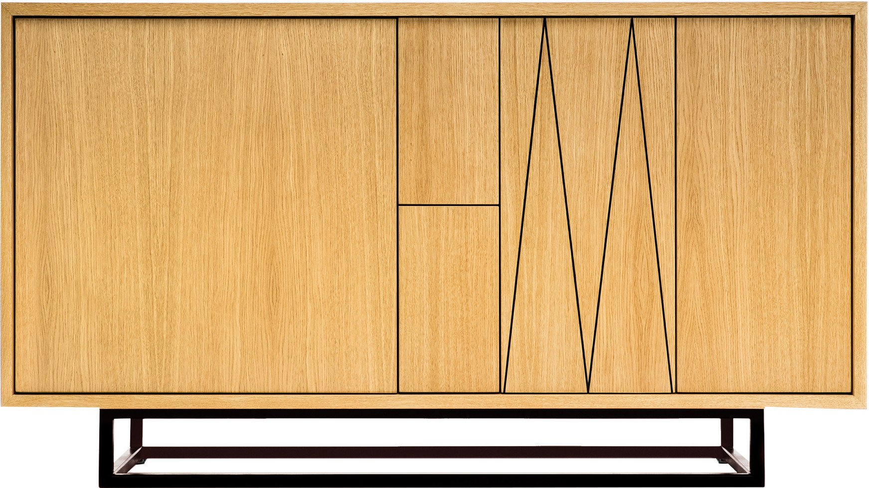 Unity Sideboard Natural Oiled Oak S by M. Kobiela for Phormy