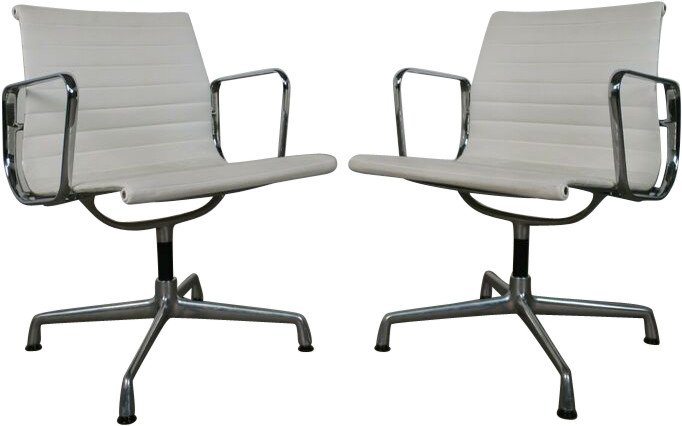 Pair of Office Chairs by Ch. & R. Eames for Vitra, Germany