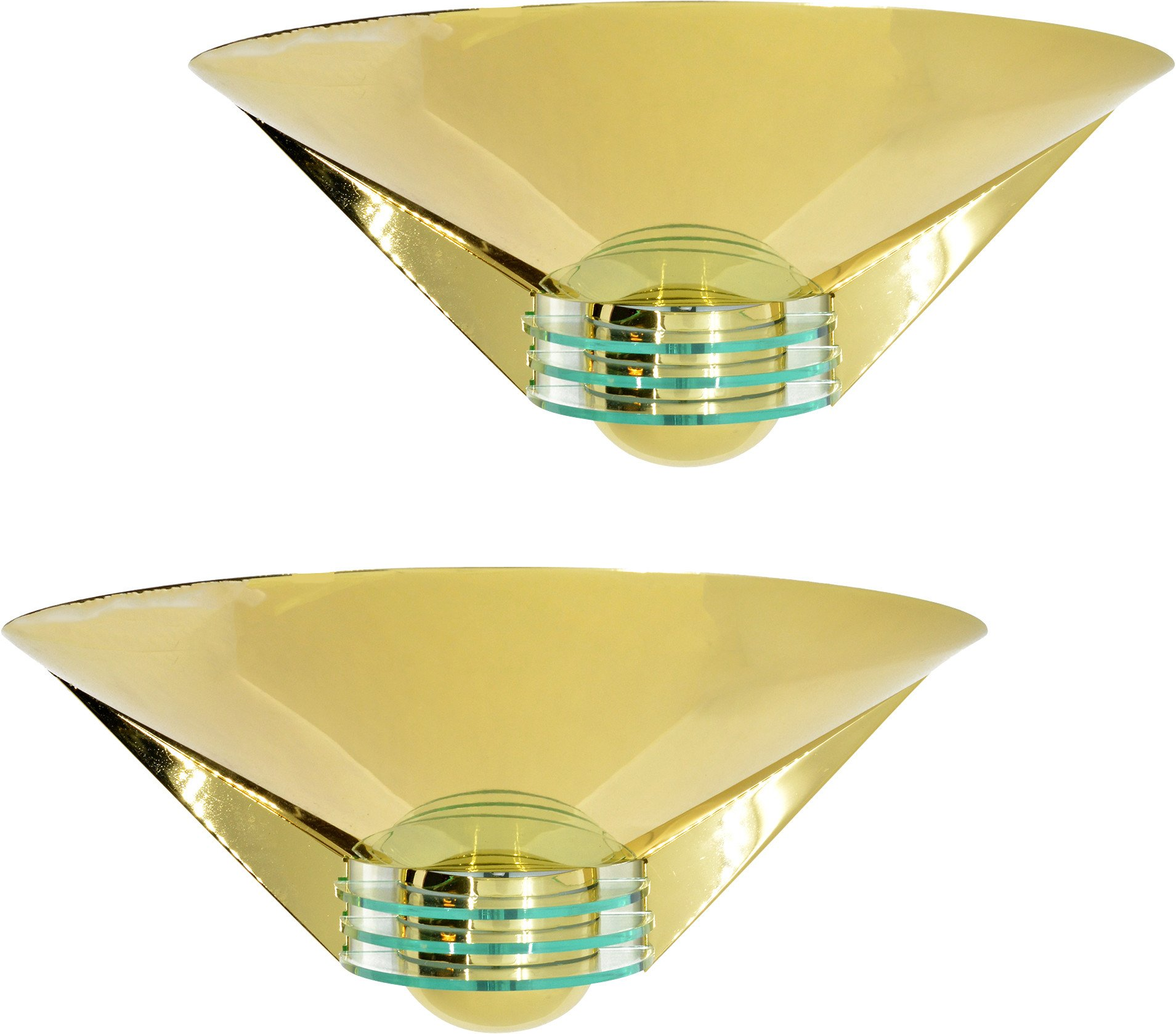 Pair of Wall Lamps, Deco Leuchten, Germany, 1980s