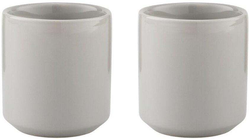 Pair of Core Thermo Cups Grey by M. Dörfel for Stelton