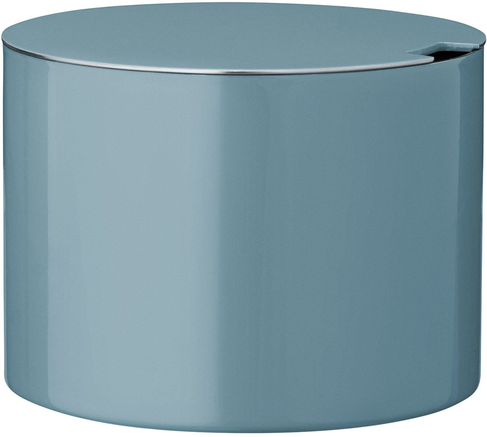 Cylinda-line 50th anniversary Sugar Bowl Turquoise by A. Jacobsen for Stelton