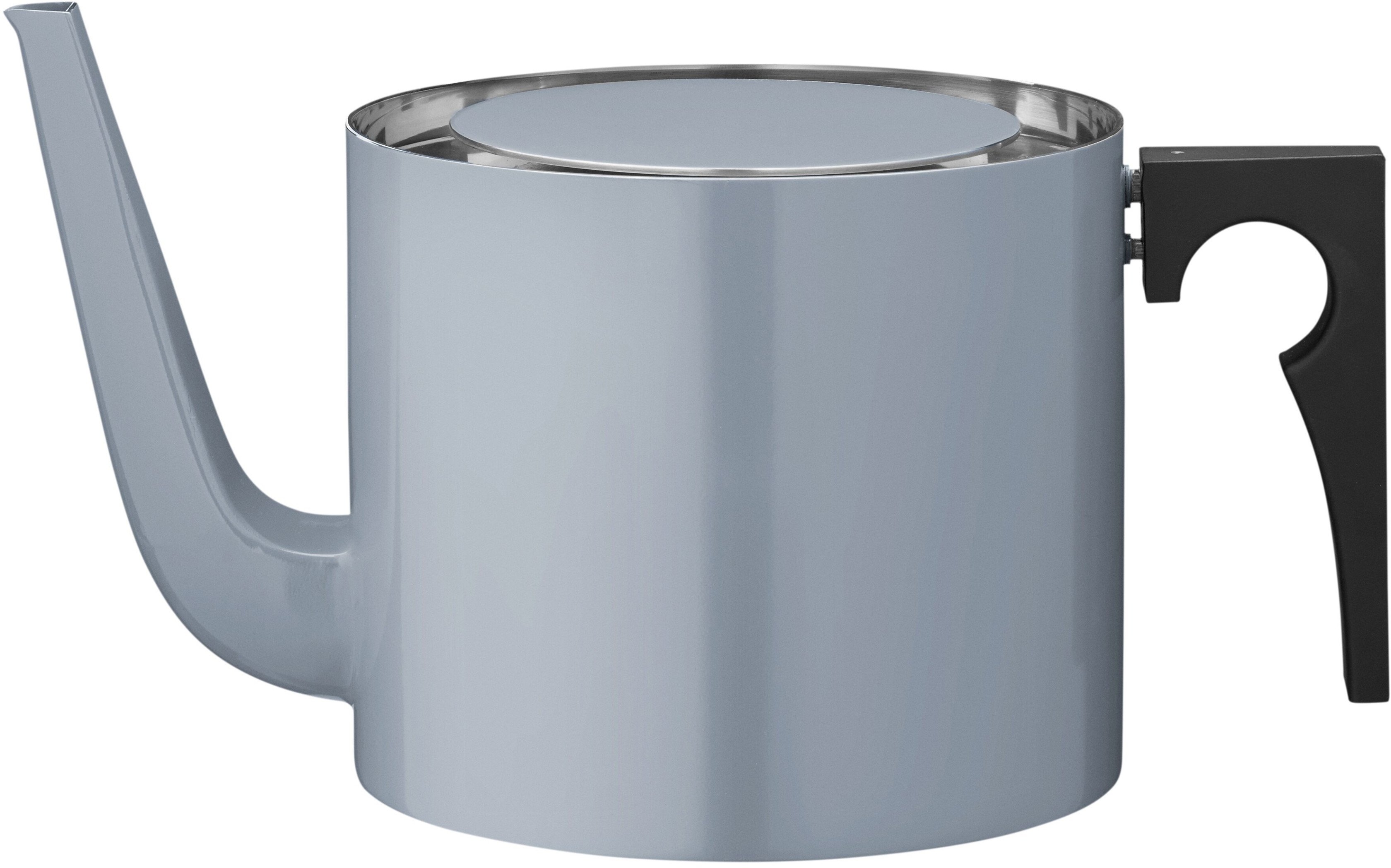 Cylinda-line 50th Anniversary Tea Pot 1,25 L Smoke Blue by A. Jacobsen for Stelton