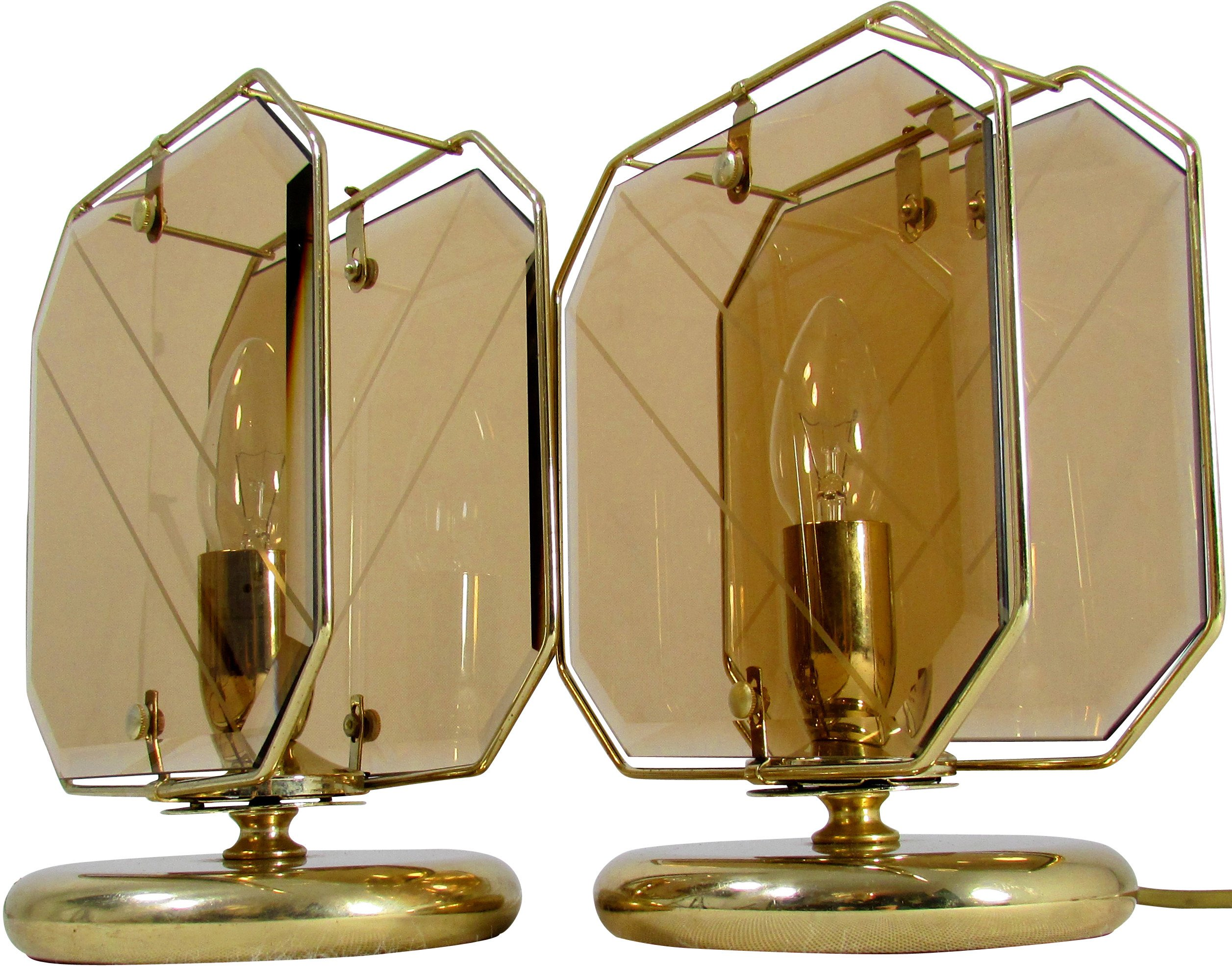 Pair of Bedroom Lamps, Germany, 1960s