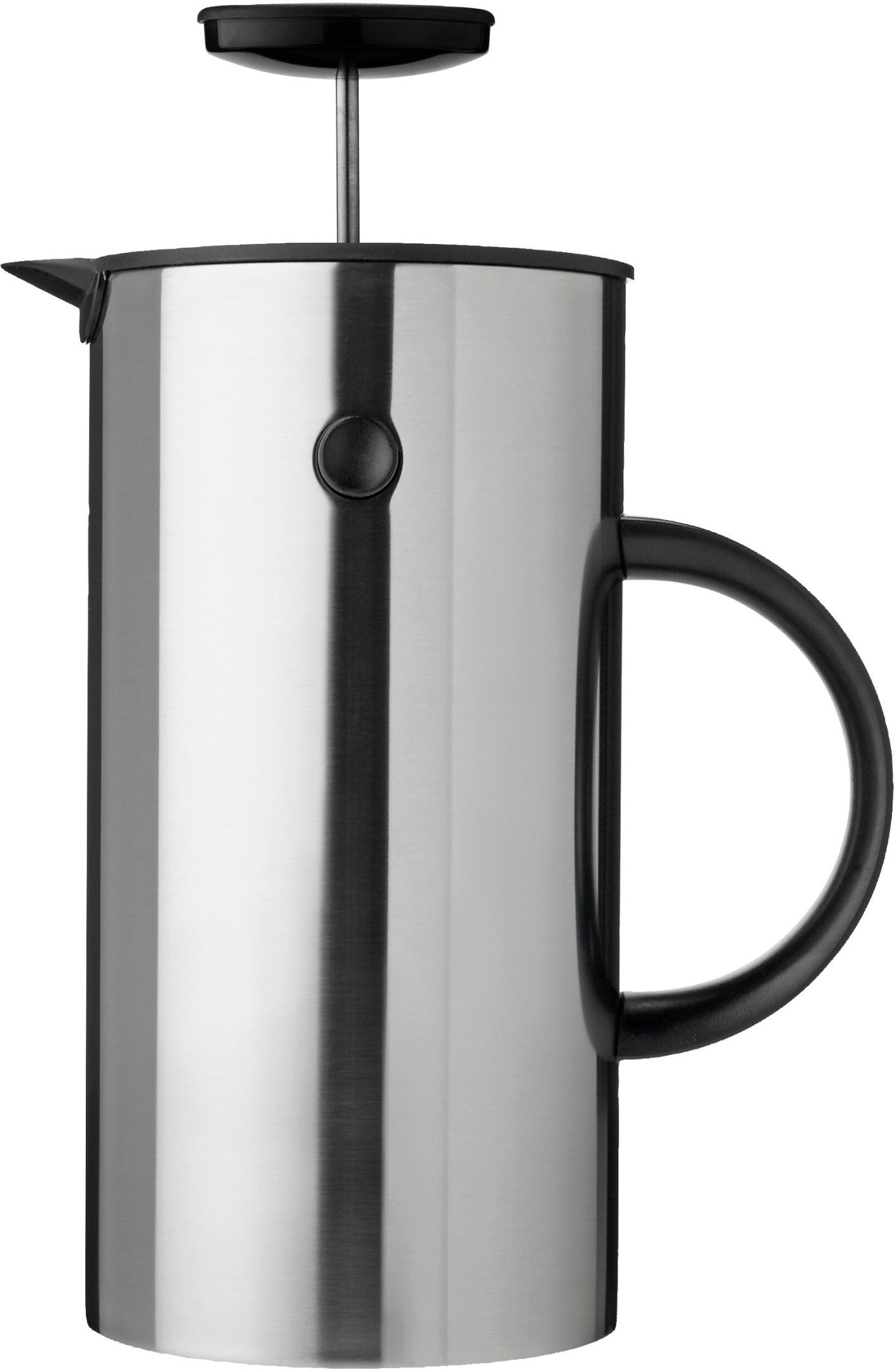EM Press Coffee Maker Steel 1L by E. Magnussen, Stelton