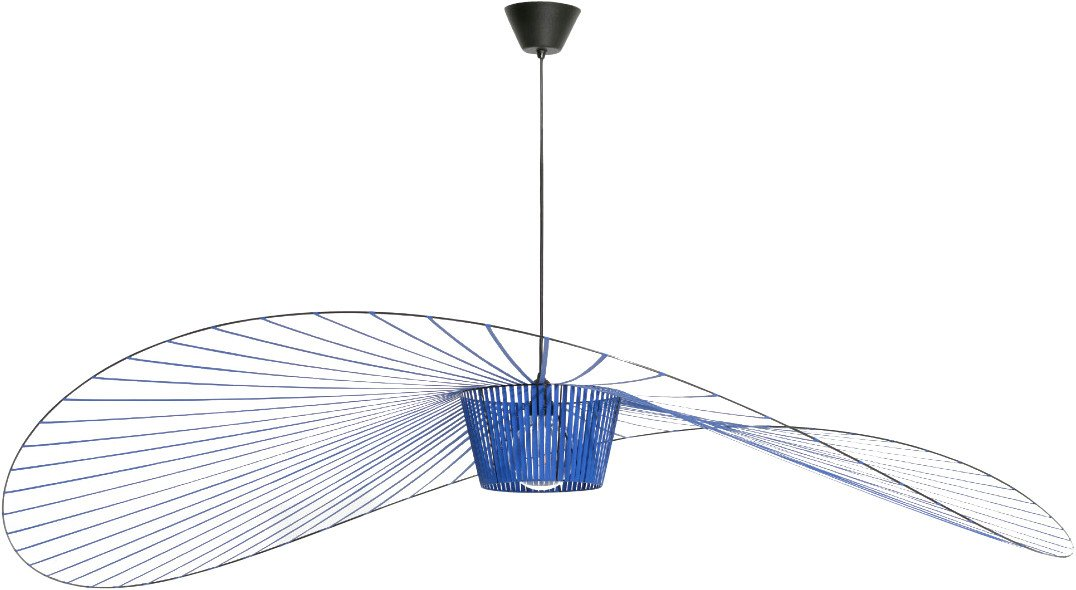 Vertigo Pendant Lamp Cobalt L by C. Guisset for Petite Friture