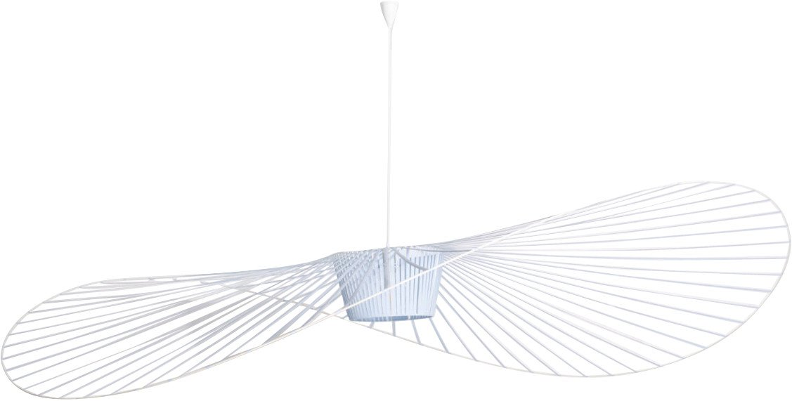 Vertigo Pendant Lamp Light Blue L by C. Guisset for Petite Friture