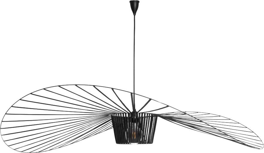 Vertigo Pendant Lamp Black S by C. Guisset for Petite Friture