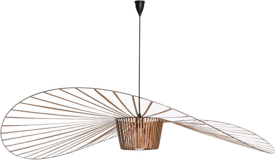 Vertigo Pendant Lamp Copper S by C. Guisset for Petite Friture