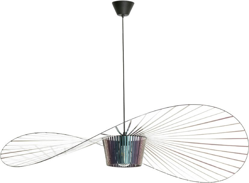 Vertigo Pendant Lamp Iridescent S by C. Guisset for Petite Friture