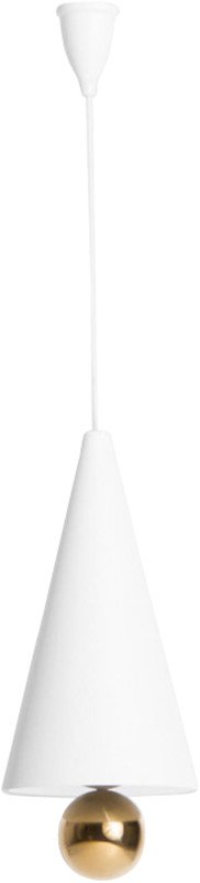 Cherry Pendant Lamp White L by D. To & E. Aiston for Petite Friture
