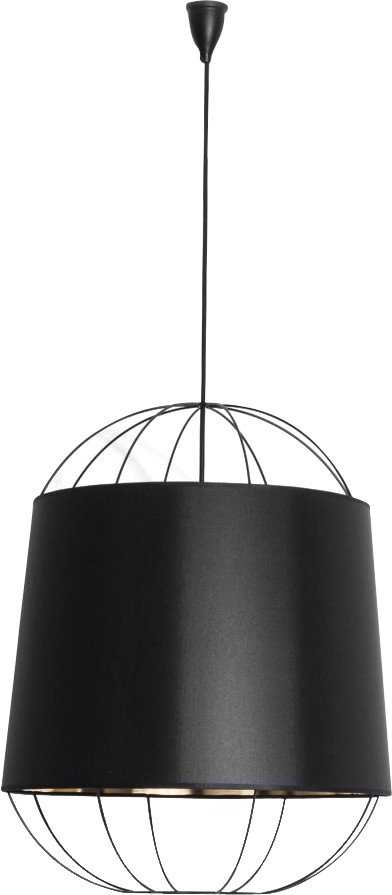 Lanterna Pendant Lamp Black M by S. Baron for Petite Friture