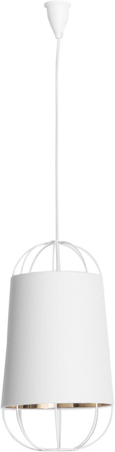Lanterna Pendant Lamp White S by S. Baron for Petite Friture