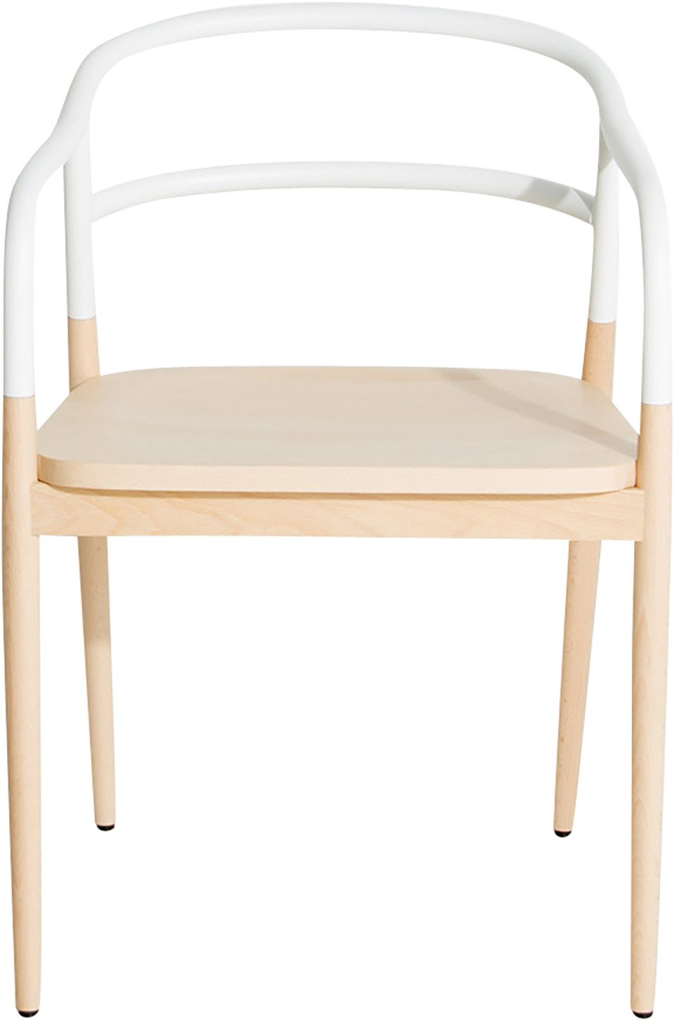 White Dojo Chair by A. Chhor i A. Logerot for Petite Friture