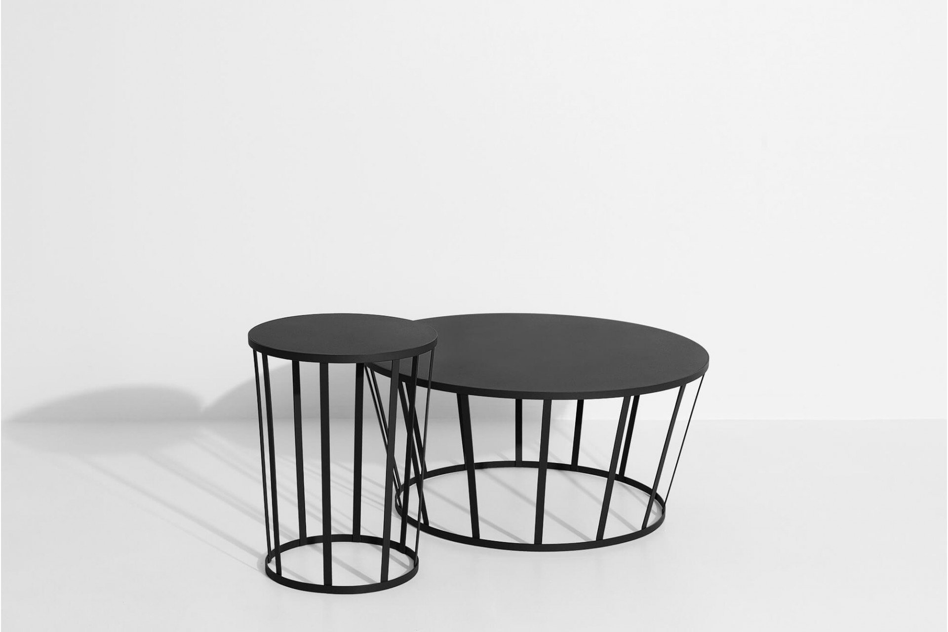 Black Hollo Side Table by A. Chhor i A. Logerot for Petite Friture