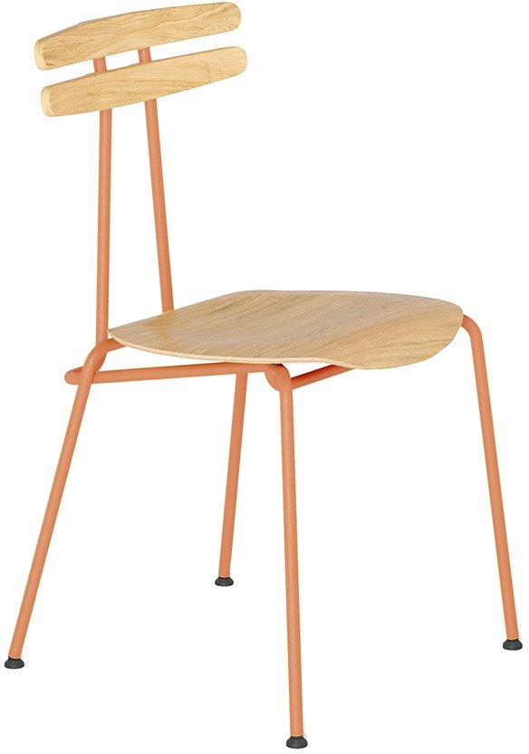 Trojka Chair Medium Orange Oak, Tabanda, Poland
