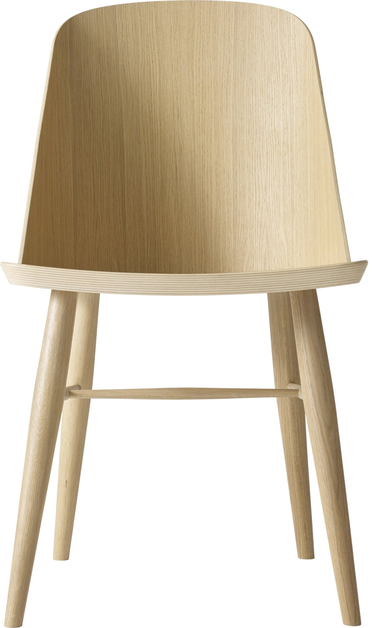 Synnes Chair Natural Oak by F. Svantun for Menu