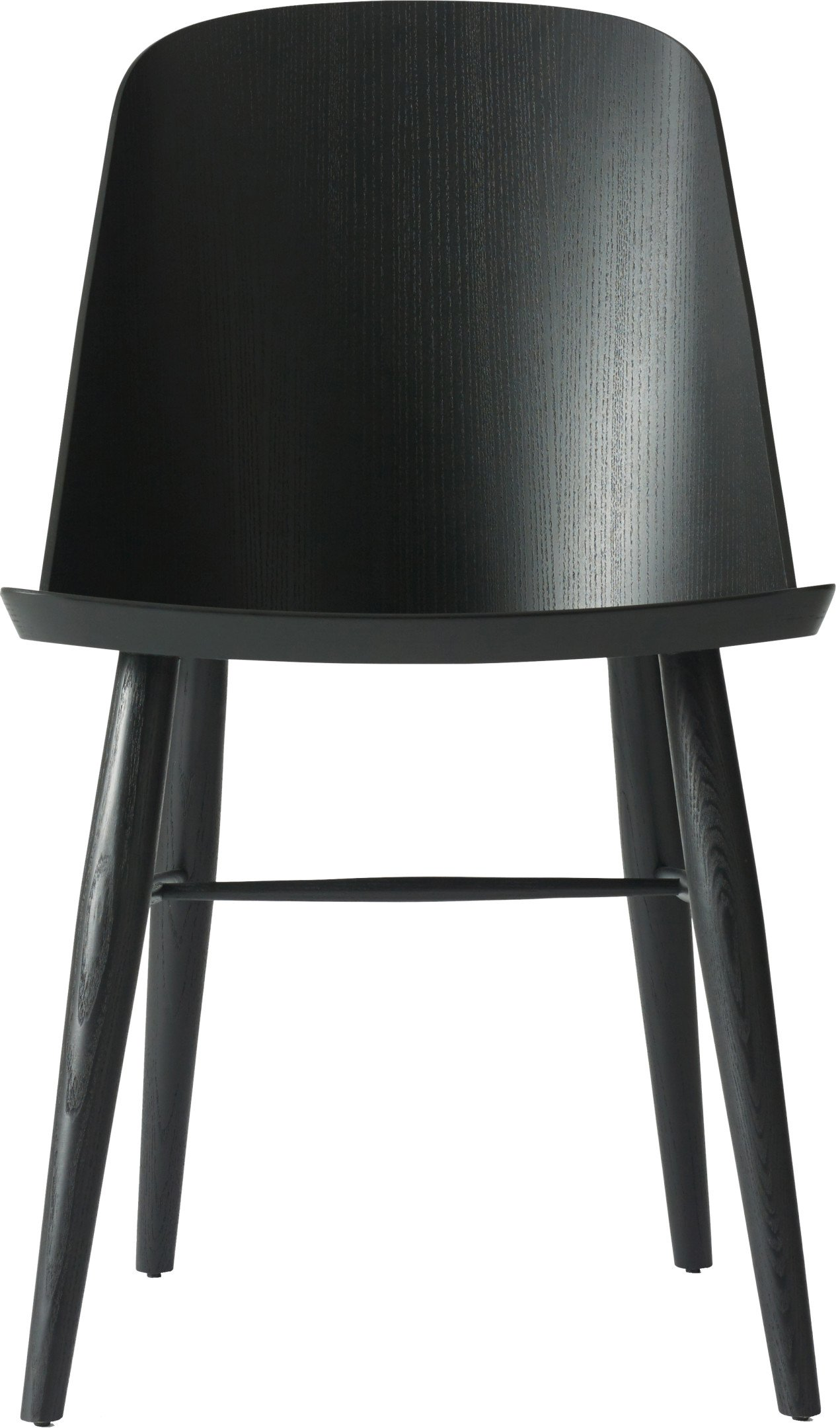 Synnes Chair Black Ash by F. Svantun for Menu