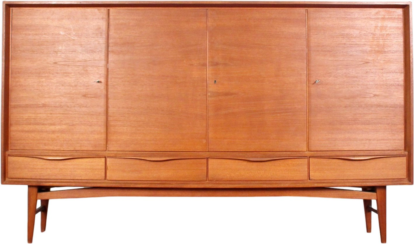 Highboard, Denmark, 1970s